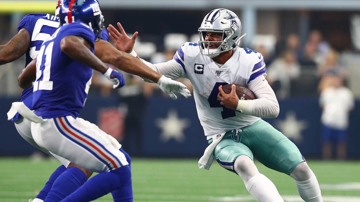 Giants Vs Cowboys Score Dallas Starts Slow Pulls Away In