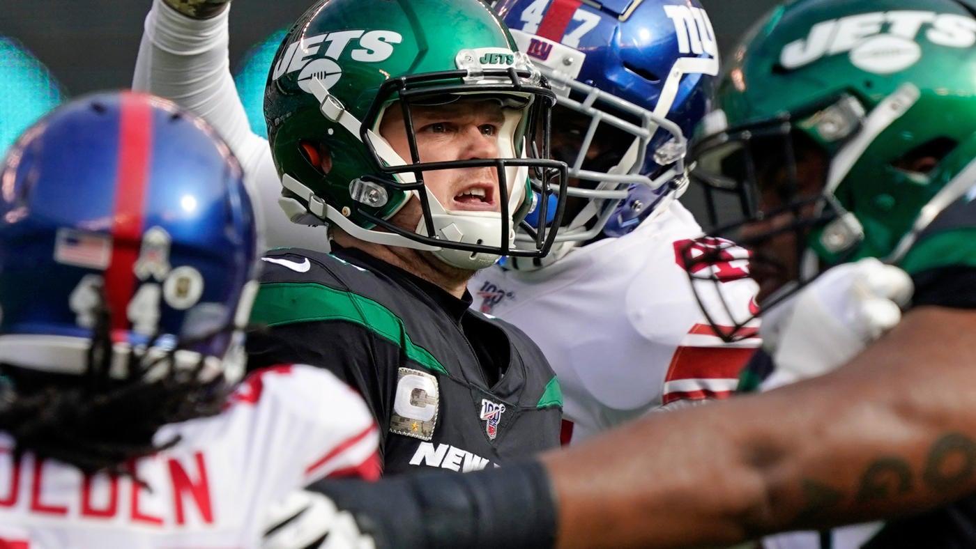 Giants At Jets Final Score Sam Darnold Outduels Daniel