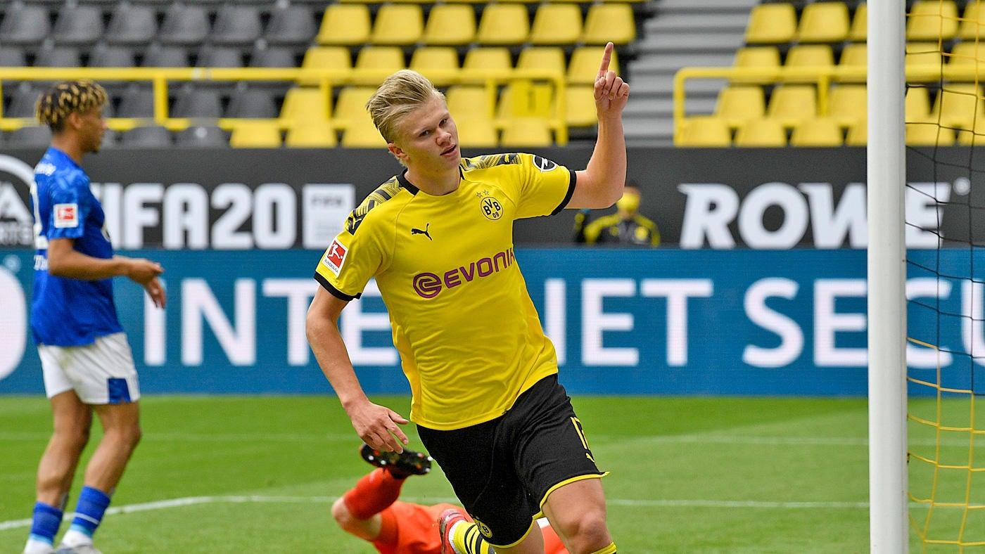 Borussia Dortmund vs. Schalke 04 score: Haaland, Brandt, Guerreiro ...