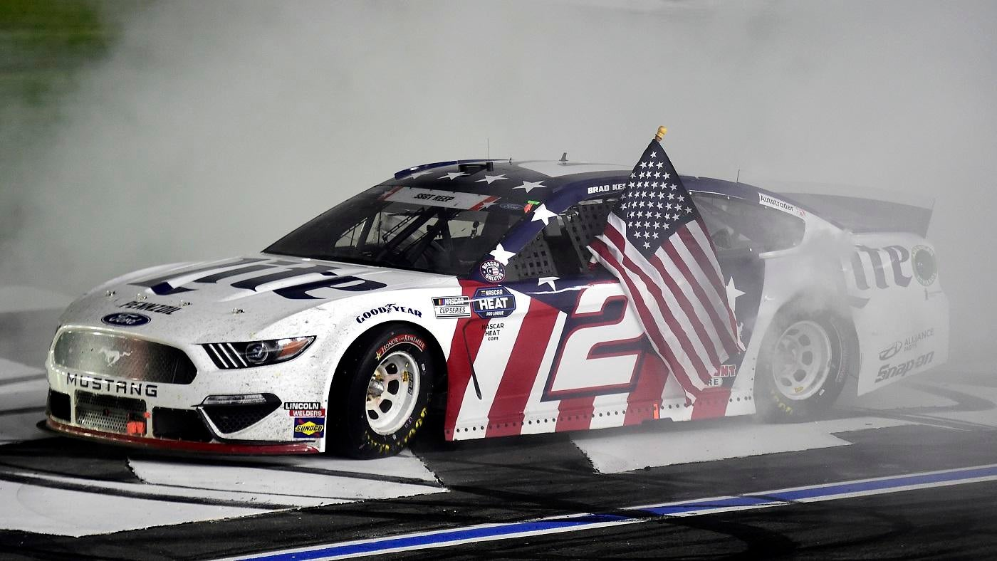 NASCAR Coca-Cola 600 results: Brad Keselowski edges Jimmie Johnson ...