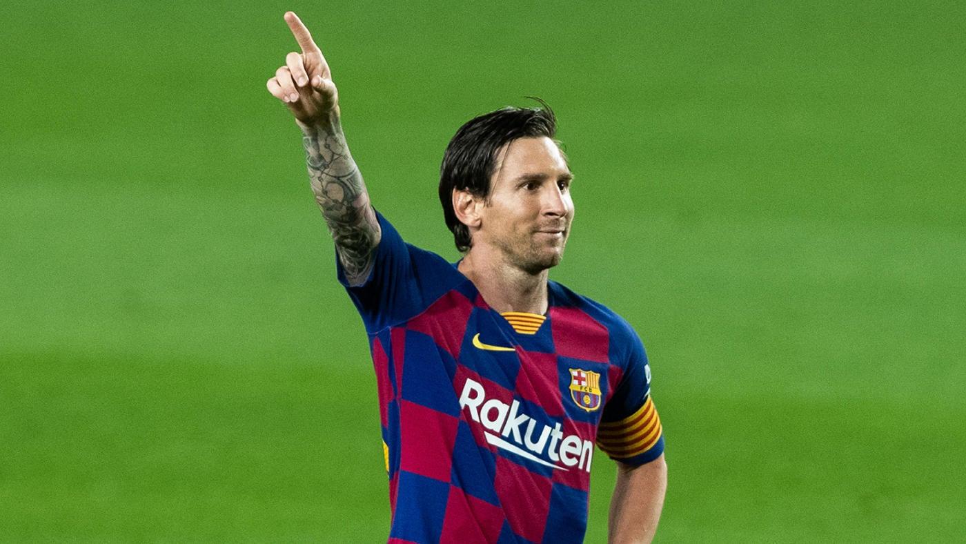 Barcelona Vs Atletico Madrid Score Messi Gets 700th Goal But Barca Drops More Points In La Liga Race Cbssports Com
