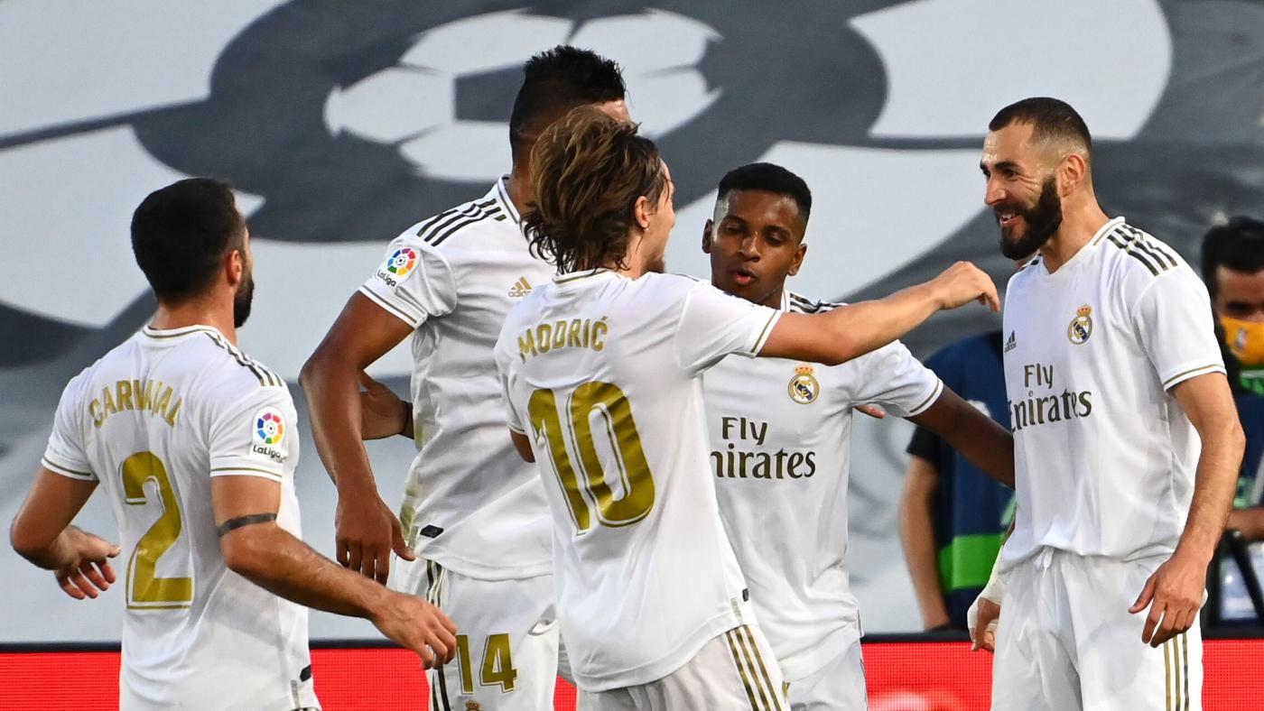 Real Madrid clinches La Liga title: Los Blancos eliminate ...