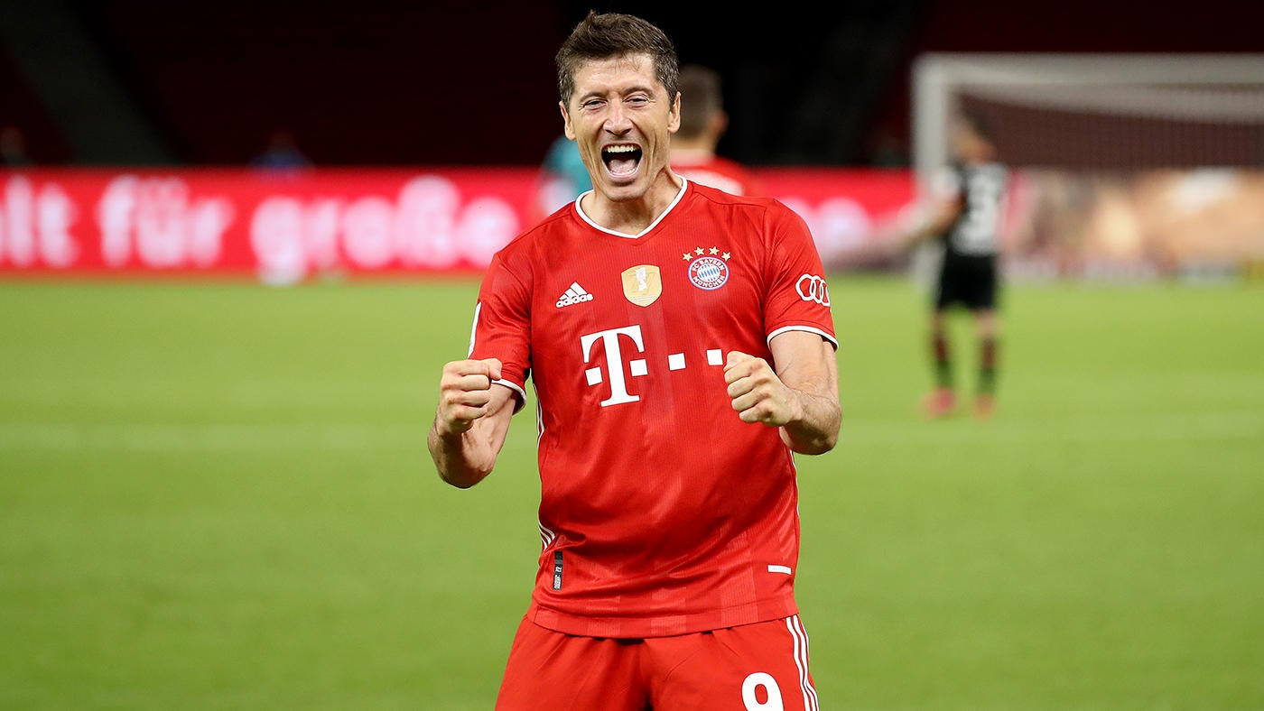 Bayern Munich Vs Chelsea Score Lewandowski Scores Twice As German Giants Roll To Champions League Quarters CBSSports com
