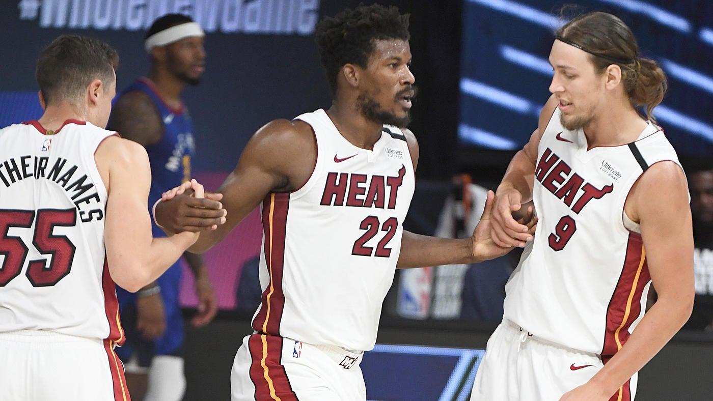 Heat Vs Nuggets Score Takeaways Miami Lights Up Scoreboard From Deep Uses Big Second Half To Sink Denver Cbssports Com