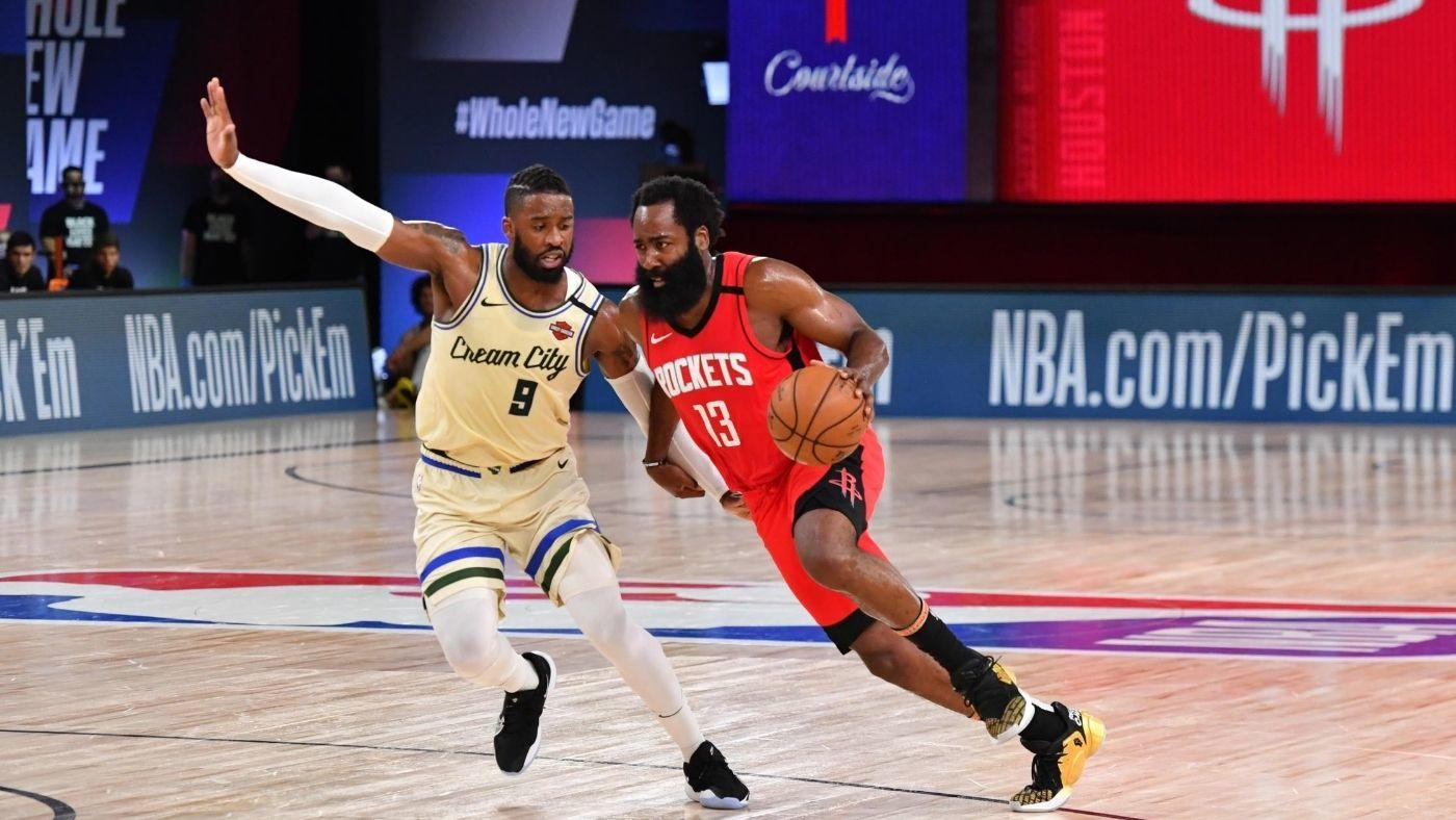 Bucks Vs Rockets Score Takeaways James Harden And Russell Westbrook Lead Houston Past Milwaukee In Thriller Cbssports Com