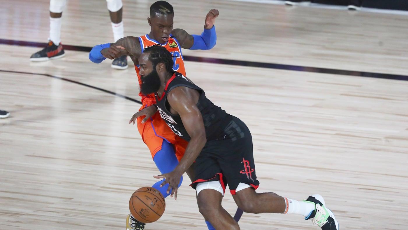 Rockets Vs Thunder Score Takeaways James Harden Houston Don T Need Russell Westbrook In Game 2 Win Vs Okc Cbssports Com