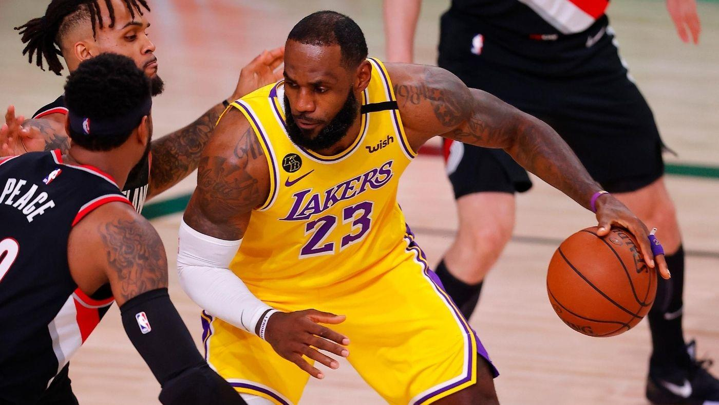 Trail Blazers vs. Lakers score: Los Angeles dominates Game 2 to ...