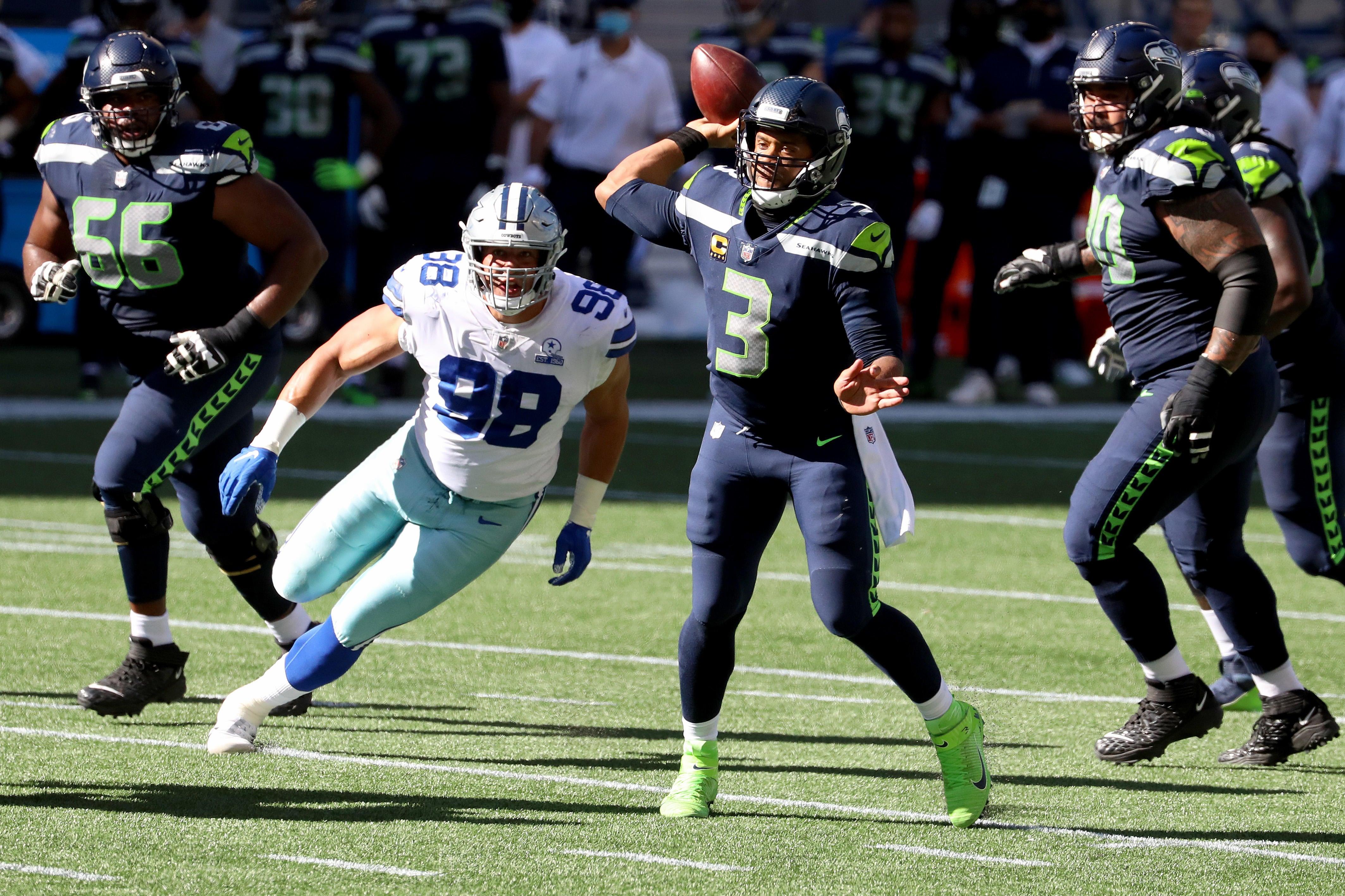 Cowboys Vs Seahawks Final Score Russell Wilson Wins Nfc Shootout Outshines Gritty Dak Prescott Performance Cbssports Com