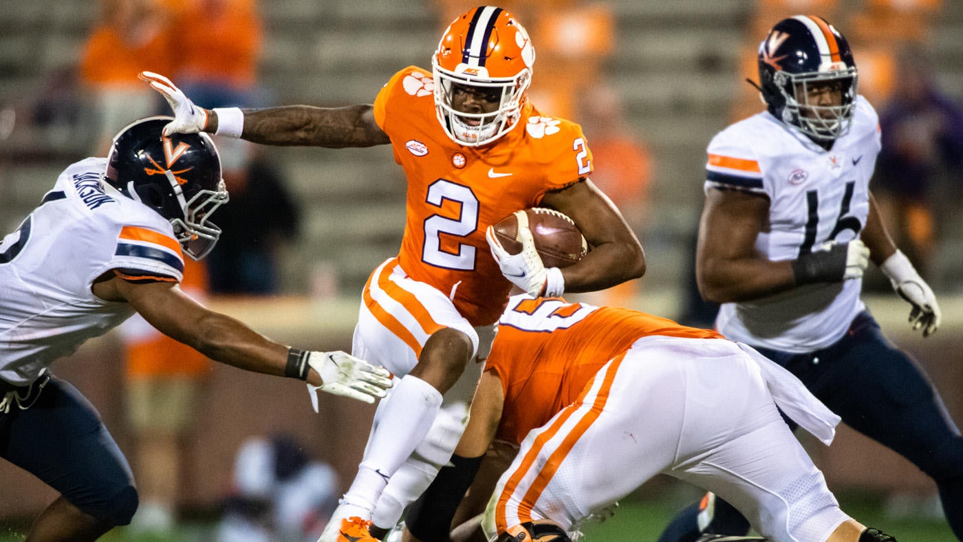 Clemson Vs Virginia Score Takeaways No 1 Tigers Leave Room For Improvement In Win Over Cavaliers Cbssports Com