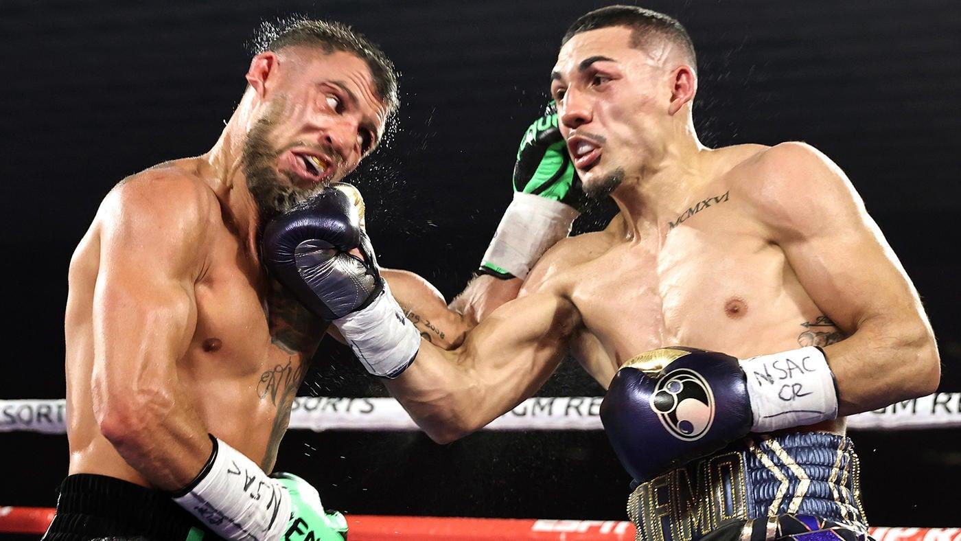 Teofimo Lopez Jr. upsets Vasiliy Lomachenko to claim undisputed lightweight crown in masterful performance - CBSSports.com