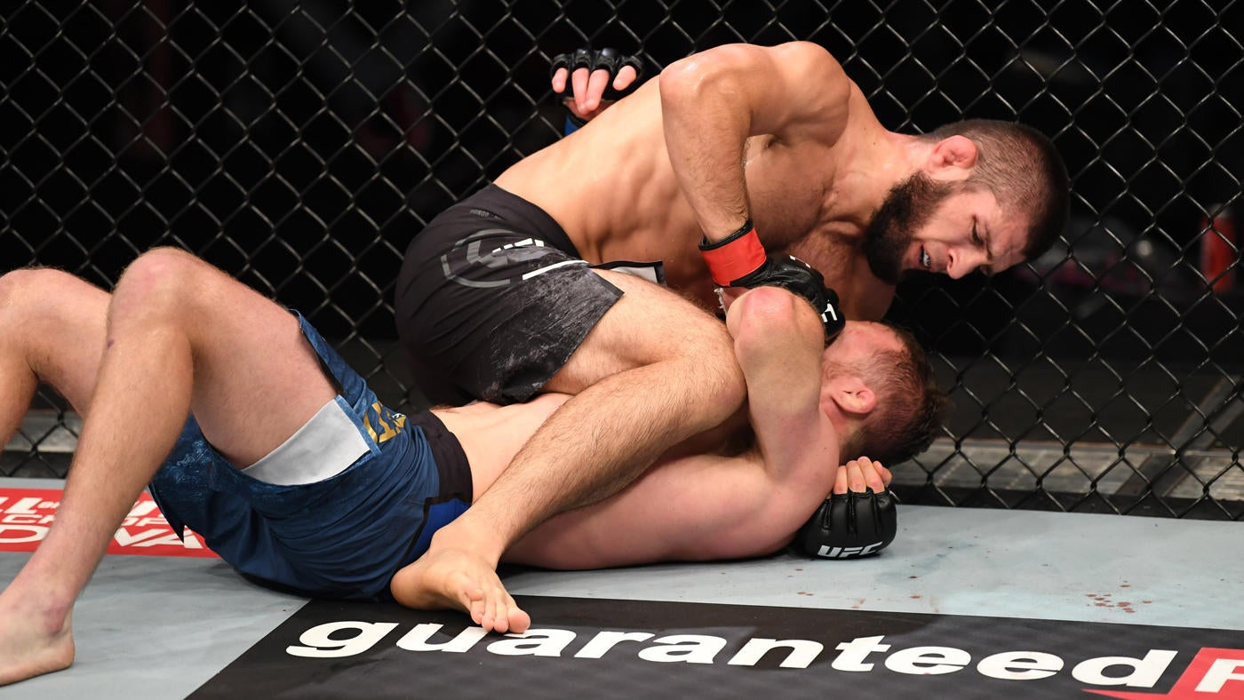 UFC 254 results, highlights: Khabib Nurmagomedov retires after stopping Justin Gaethje to retain title - CBSSports.com