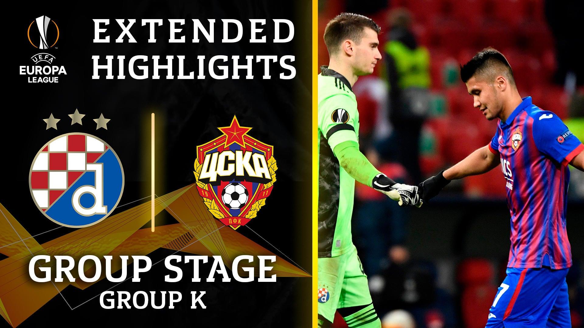 Extended Highlights Cska Moscow Vs Dinamo Zagreb Cbssports Com