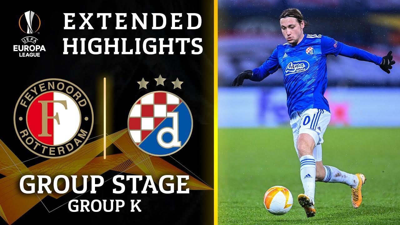 Highlights Dinamo Zagreb 0 0 Feyenoord Uefa Europa League Uefa Com