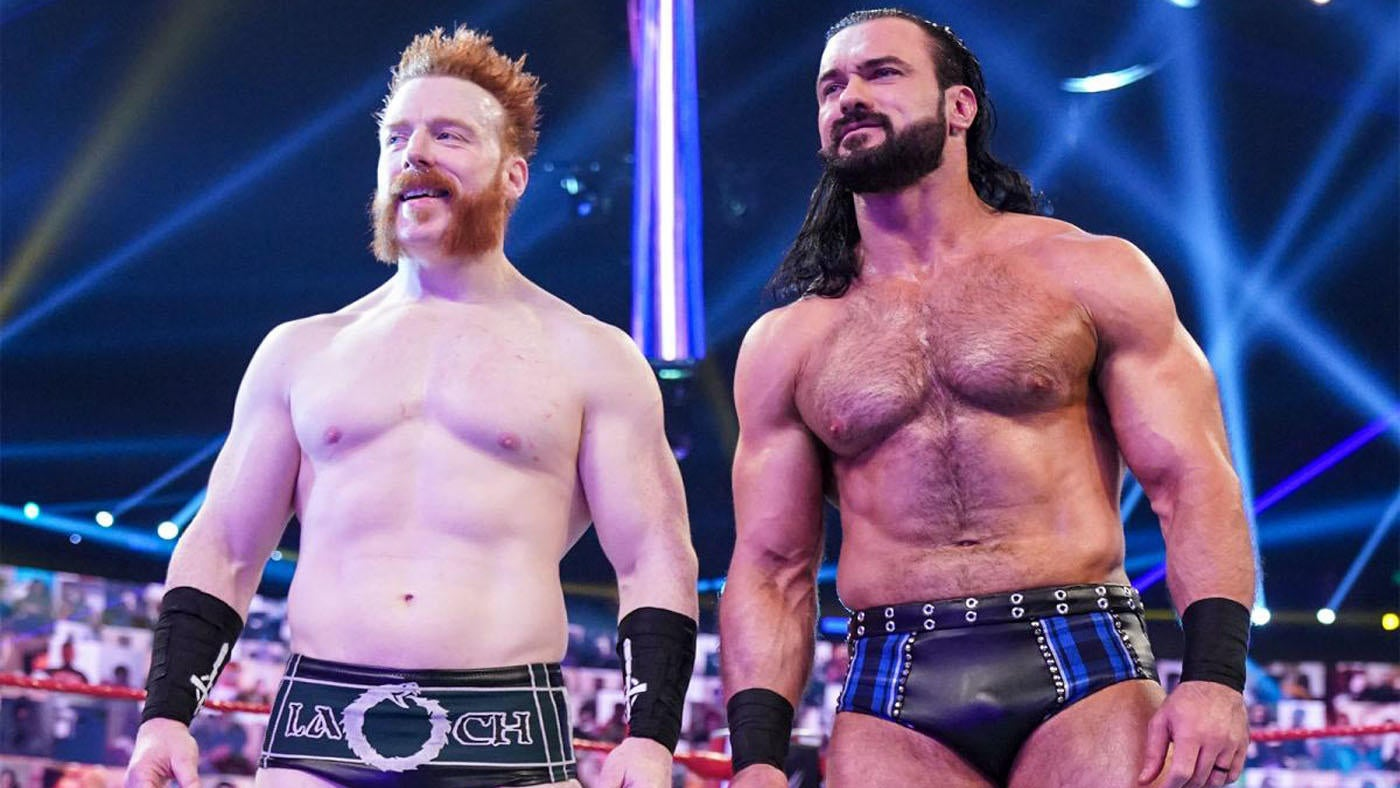 Sheamus & Drew McIntyre Put Their Differences Aside After Accidental Brogue Kick