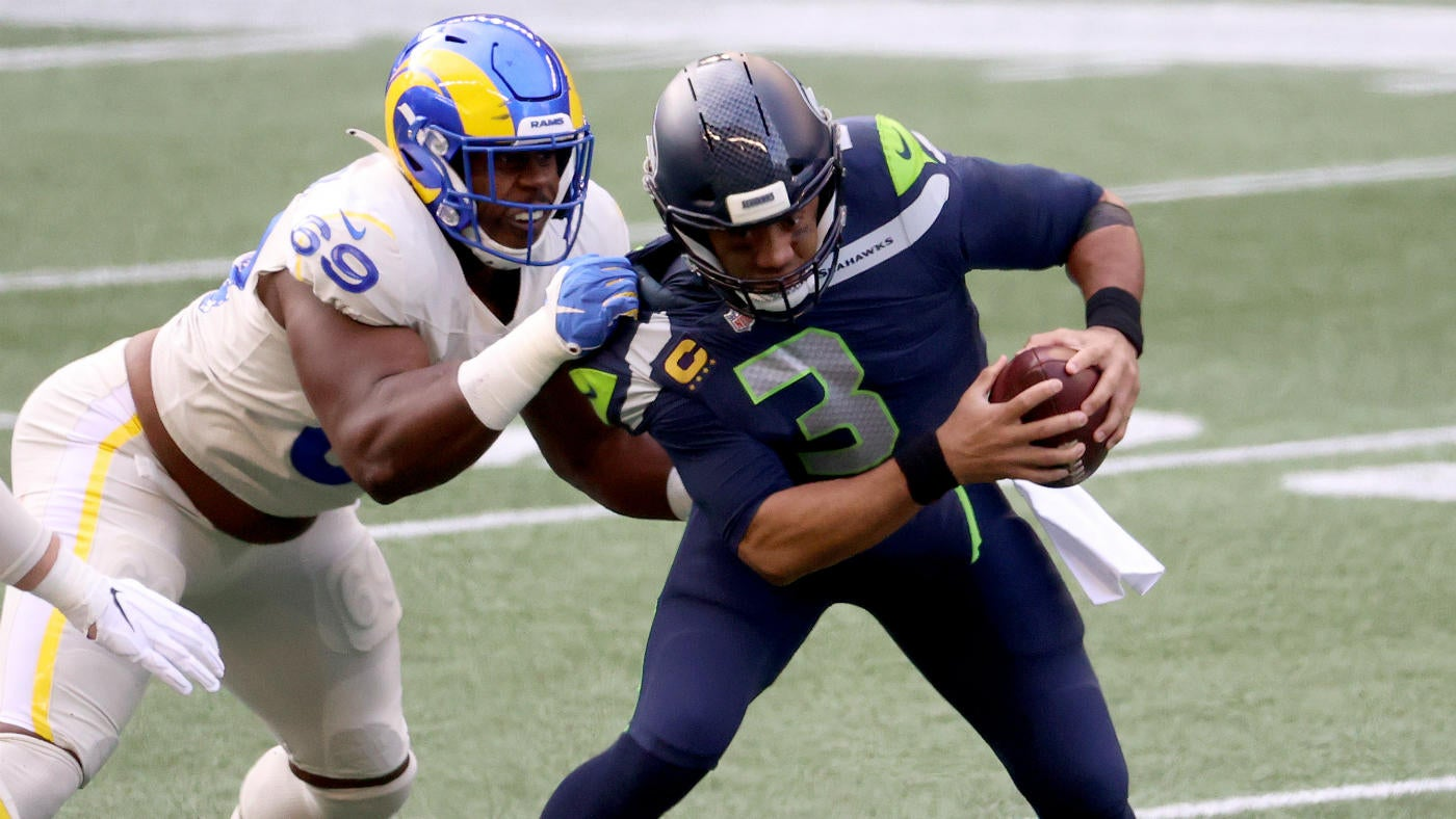 Seahawks Vs Rams Score Russell Wilson Defense Shine In Second Half As Seattle Clinches Nfc West Cbssports Com