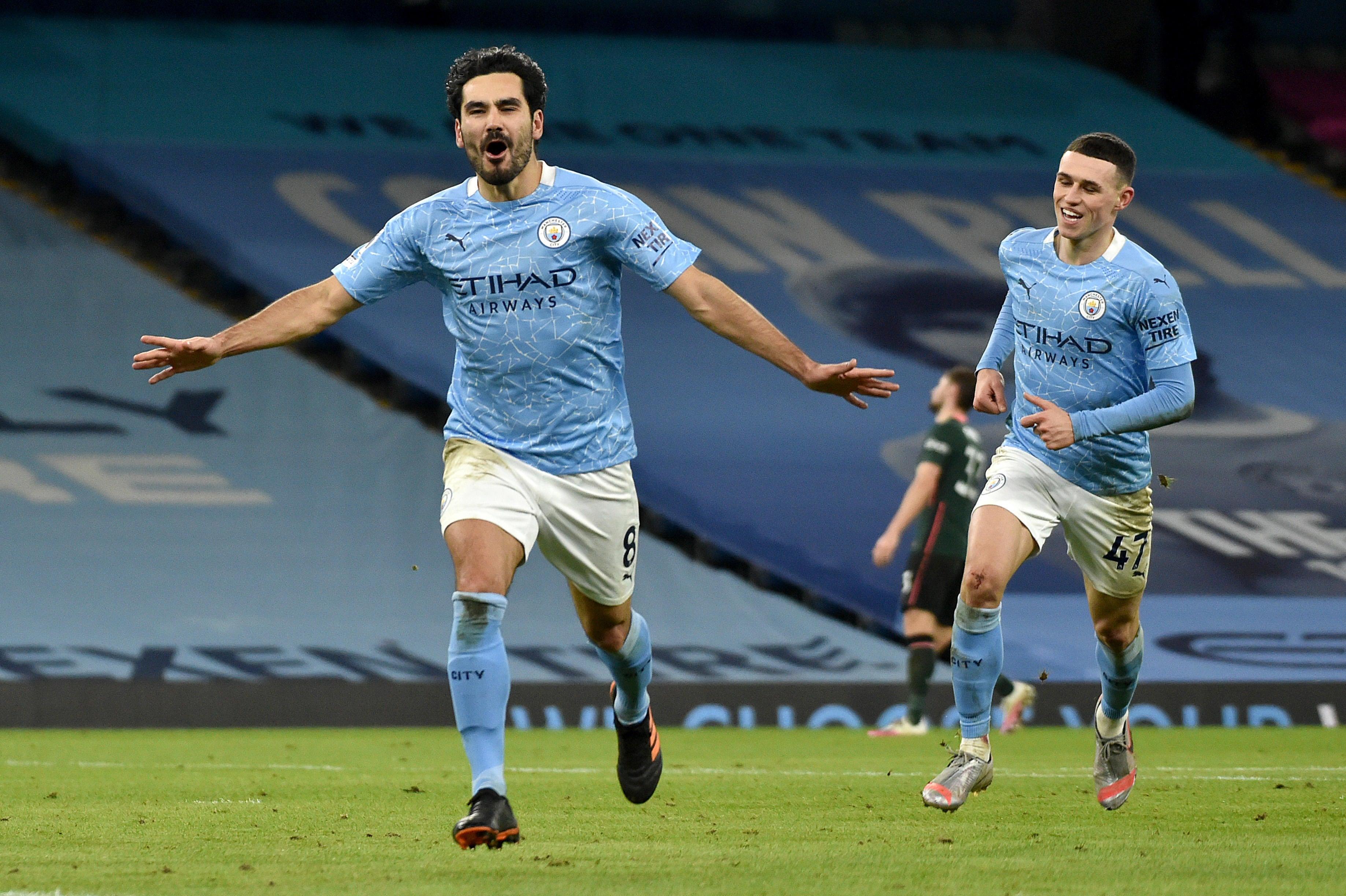 Manchester City Vs Tottenham Player Ratings Gundogan Once Again The Star As City Shut Down Son Cbssports Com