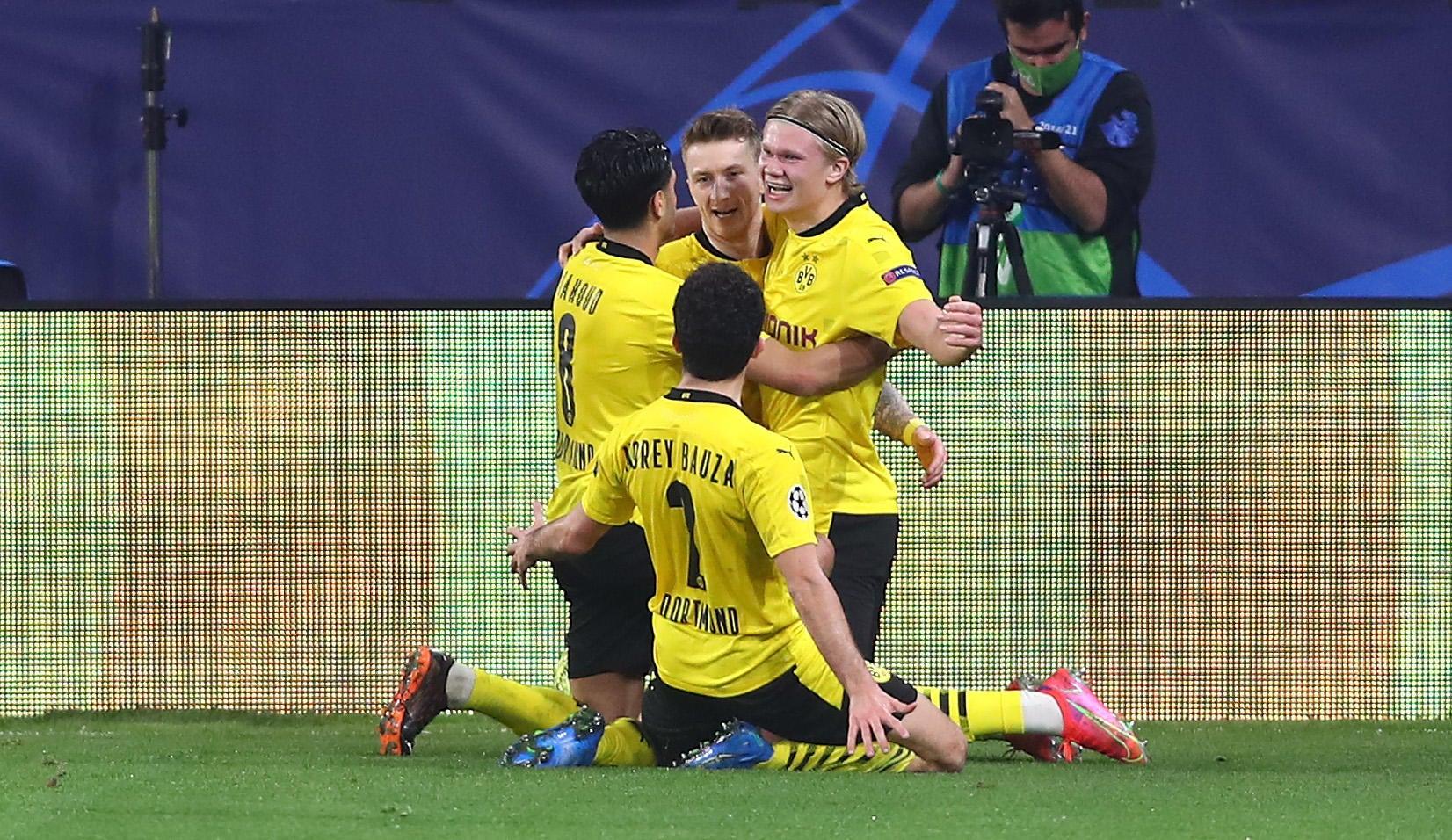 Sevilla vs. Dortmund score: Erling Haaland double leads BVB Champions  League comeback - CBSSports.com