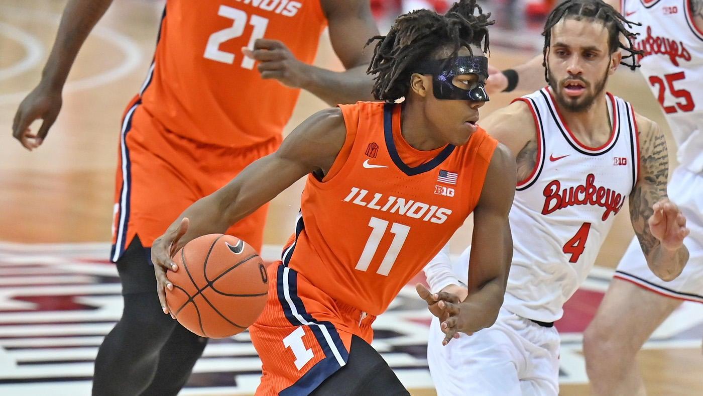 Ohio State vs. Illinois score: No. 4 Illini take down No. 7 Buckeyes as Ayo  Dosunmu returns in style - CBSSports.com