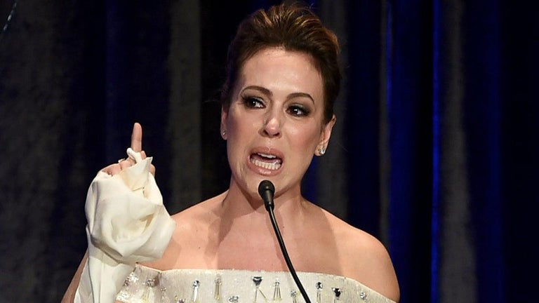 Alyssa Milano Arrested Outside the White House