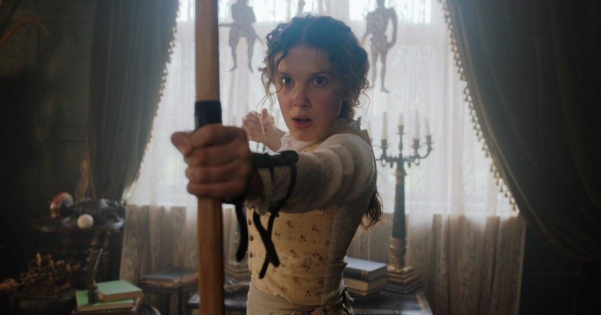 'Enola Holmes 2' Teased by Stars Millie Bobby Brown, Henry Cavill and Louis Partridge at Netflix TUDUM Event.jpg