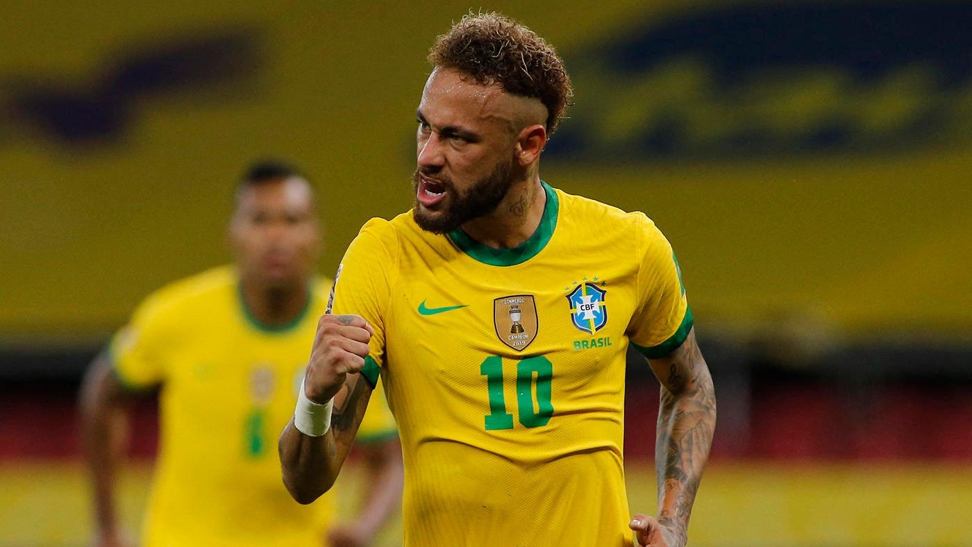 Brazil vs. Venezuela score: Marquinhos, Neymar and Gabriel Barbosa fire hosts to opening victory