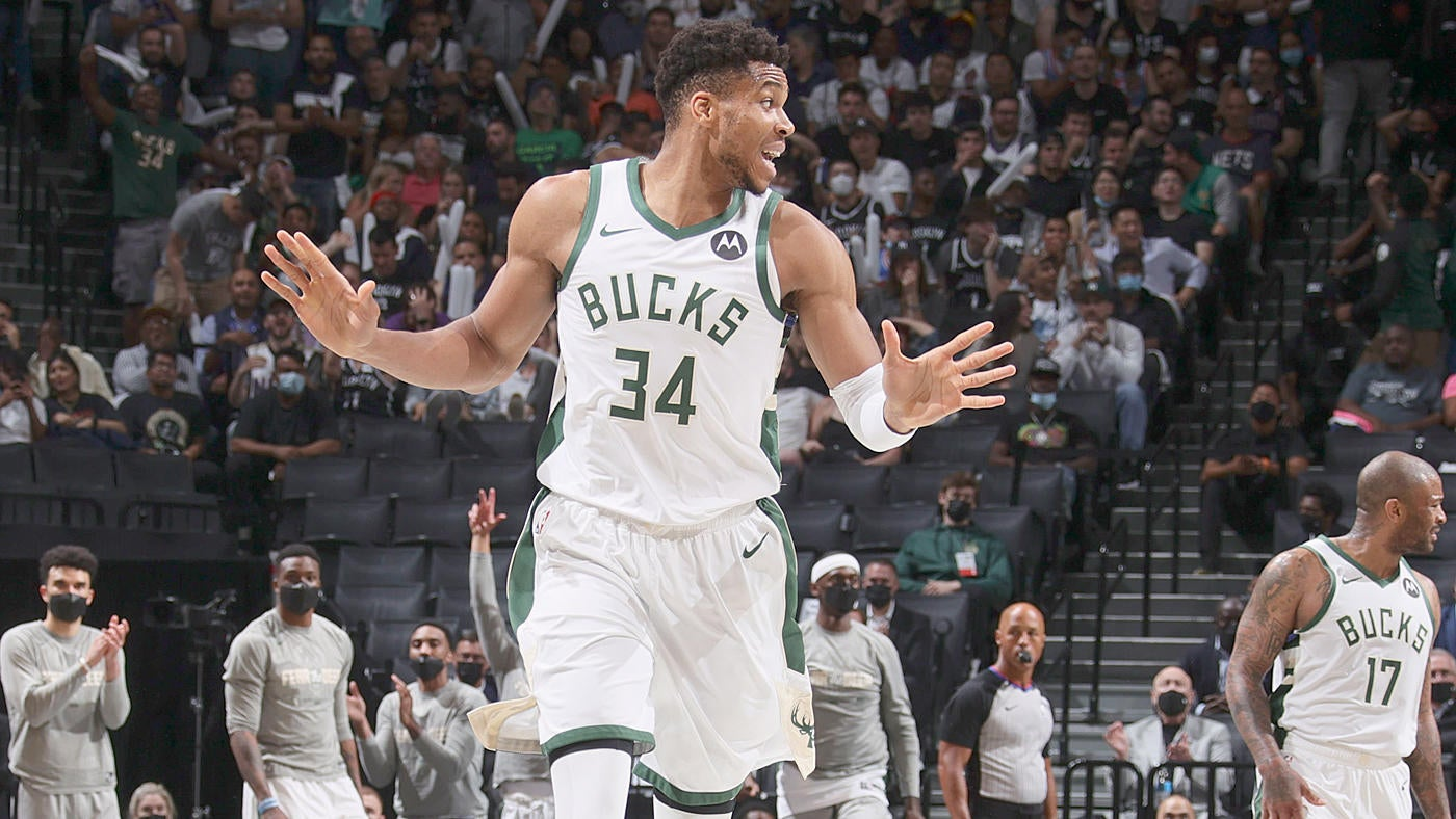 Bucks vs. Nets score: Milwaukee survives Kevin Durant's record night, advances to Eastern Conference finals - CBSSports.com