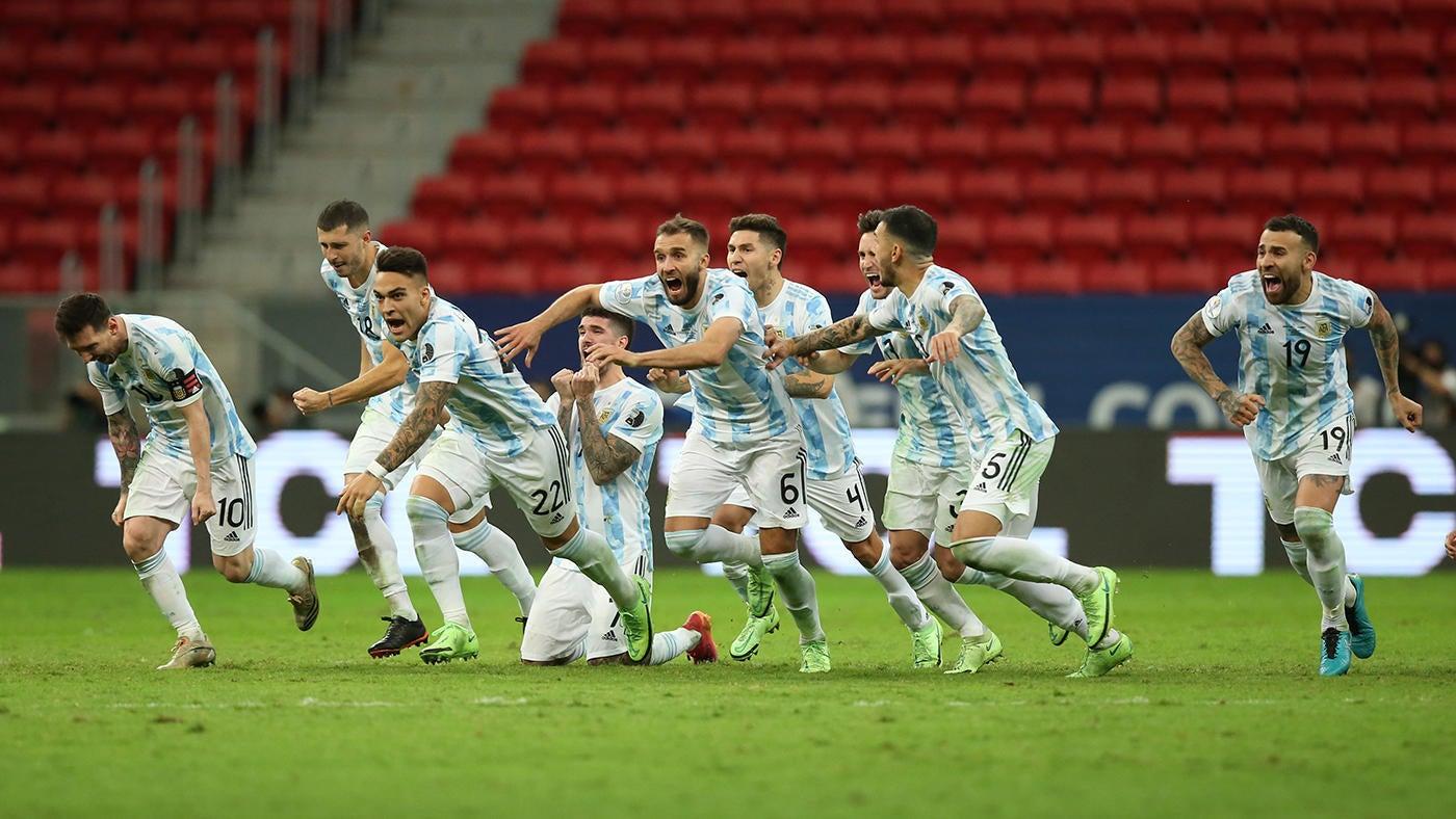 Argentina-Colombia Copa America score: Emiliano Martinez penalty heroics  sets up Lionel Messi-Brazil final - CBSSports.com