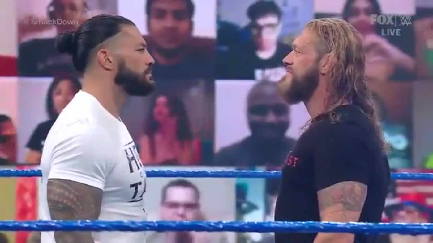 Edge & Roman Reigns Announced For Tag Team Match On WWE Smackdown 31