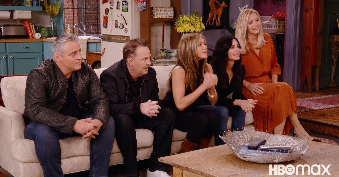 """Jennifer Aniston Says the Friends Reunion Was """"Way Harder"""" Than Expected"""
