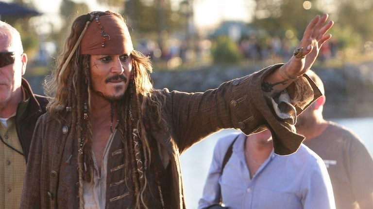Johnny Depp Slips Into Character as Jack Sparrow for Young Fan in Adorable Video