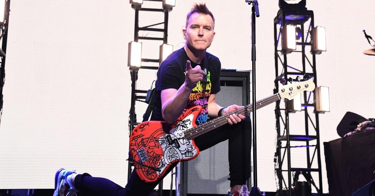 Blink-182's Mark Hoppus Gives Cancer Update After Finishing Fifth Round of Chemotherapy.jpg