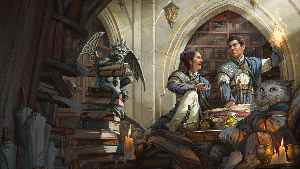 Dungeons & Dragons Releases Strixhaven - A Curriculum of Chaos Previews