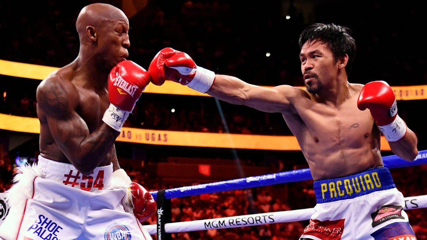 Manny Pacquiao vs. Yordenis Ugas fight results, highlights: Cuban champion  upsets Filipino legend to retain