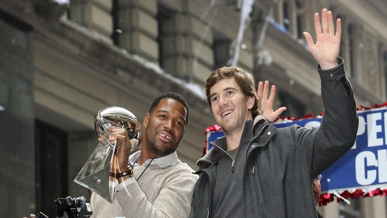 Eli Manning Surprises Michael Strahan Live on 'Good Morning America' With Huge Career Honor