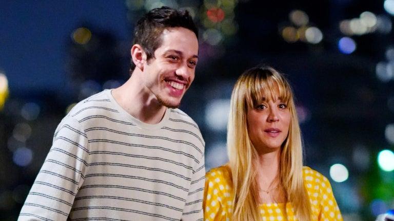 Kaley Cuoco Reveals First Glimpse of Pete Davidson Rom-Com 'Meet Cute'