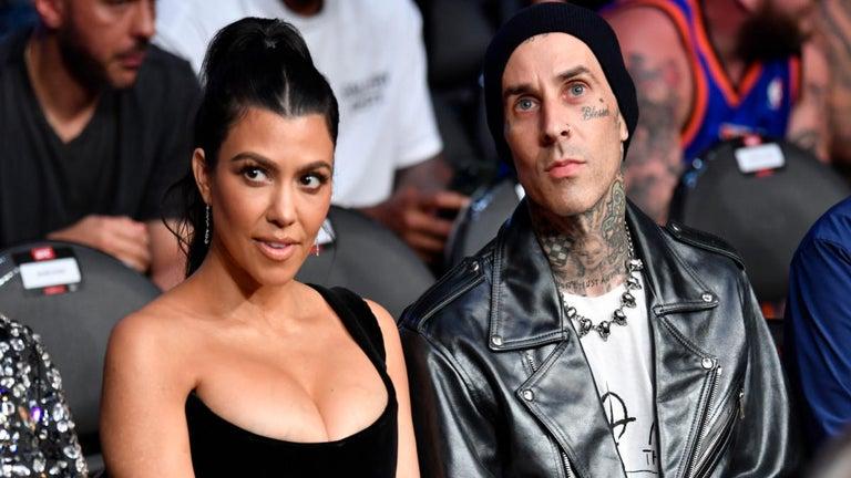 Kourtney Kardashian and Travis Barker Make Romantic Statement at Eiffel Tower Amid Scott Disick Drama