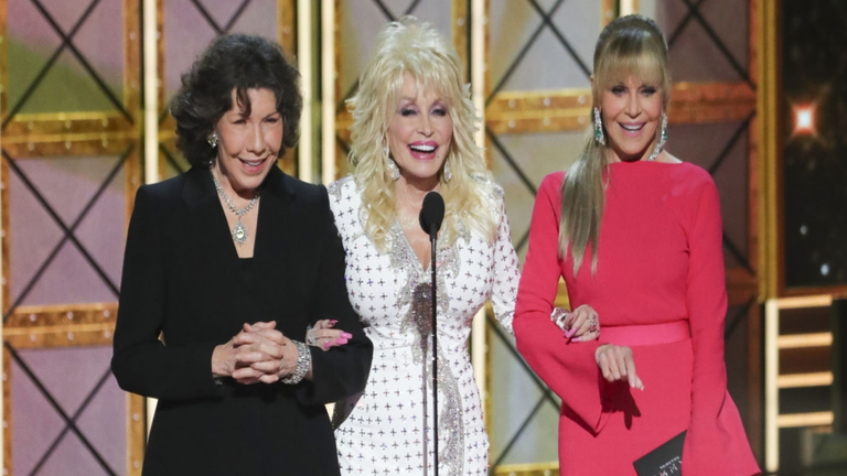 Dolly Parton's Alleged Feud With Jane Fonda and Lily Tomlin Debunked