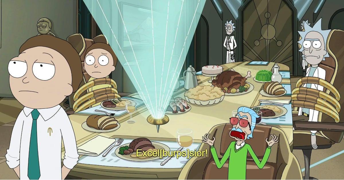Rick and Morty Season 5 Finale Stan Lee Cameo