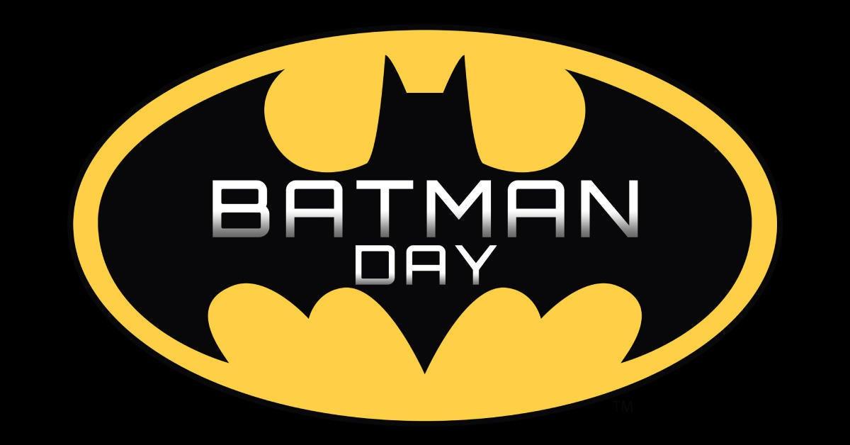 batman day 2021 logo
