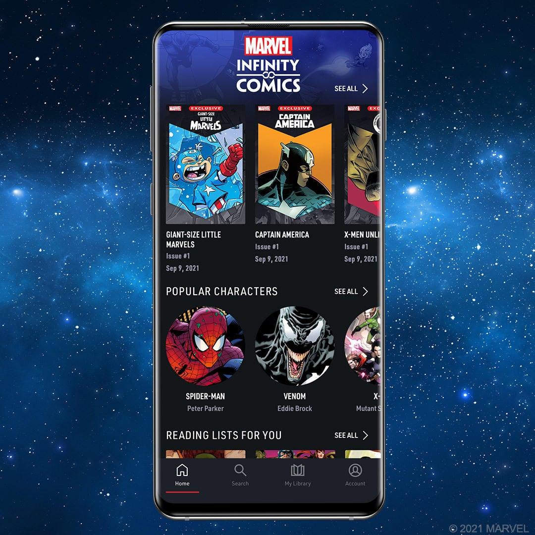 Marvel Unlimited Infinity Comics