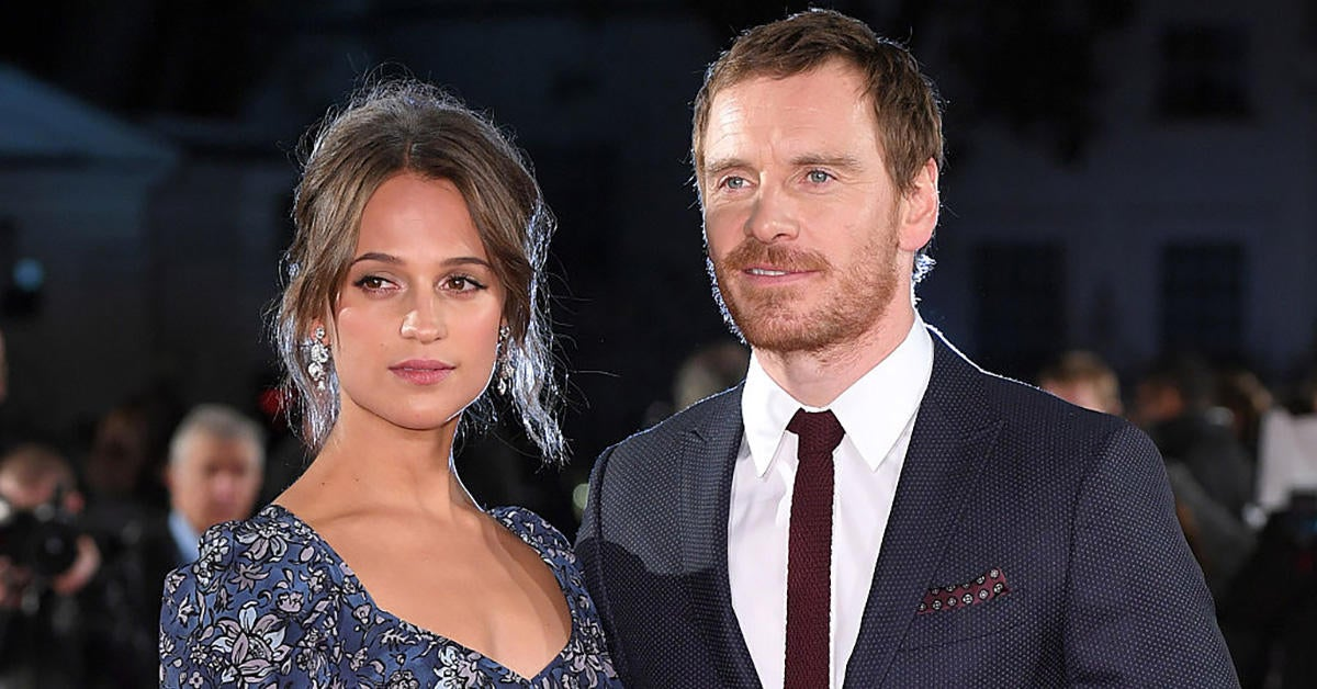 alicia-vikander-michael-fassbender-getty-images