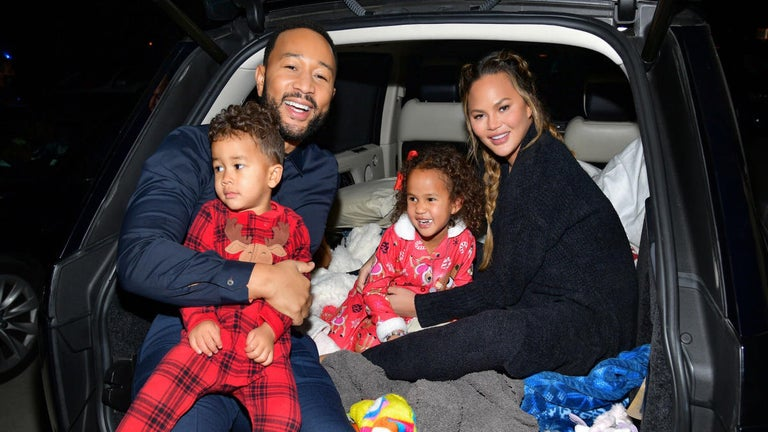 Chrissy Teigen Gets Emotional Dropping off Her Kids for First Day of School With John Legend