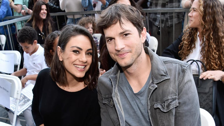 Ashton Kutcher Mocked With 'Take a Shower' Chants on 'College GameDay'