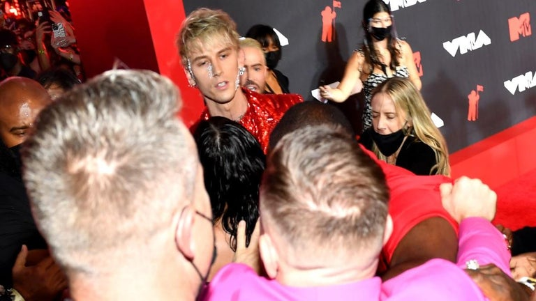 UFC Star Conor McGregor Nearly Comes to Blows With Machine Gun Kelly on VMAs Red Carpet