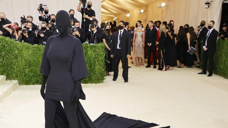 Met Gala: Kim Kardashian's Bizarre Outfit Seemingly Inspired by Ex Kanye West