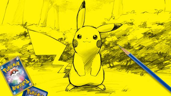Pikachu sketch