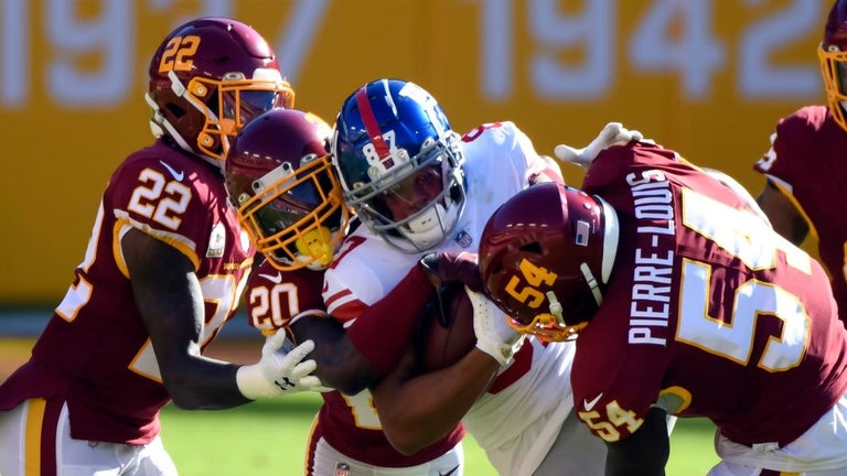 'Thursday Night Football': Time, Channel and How to Watch Giants vs. Washington