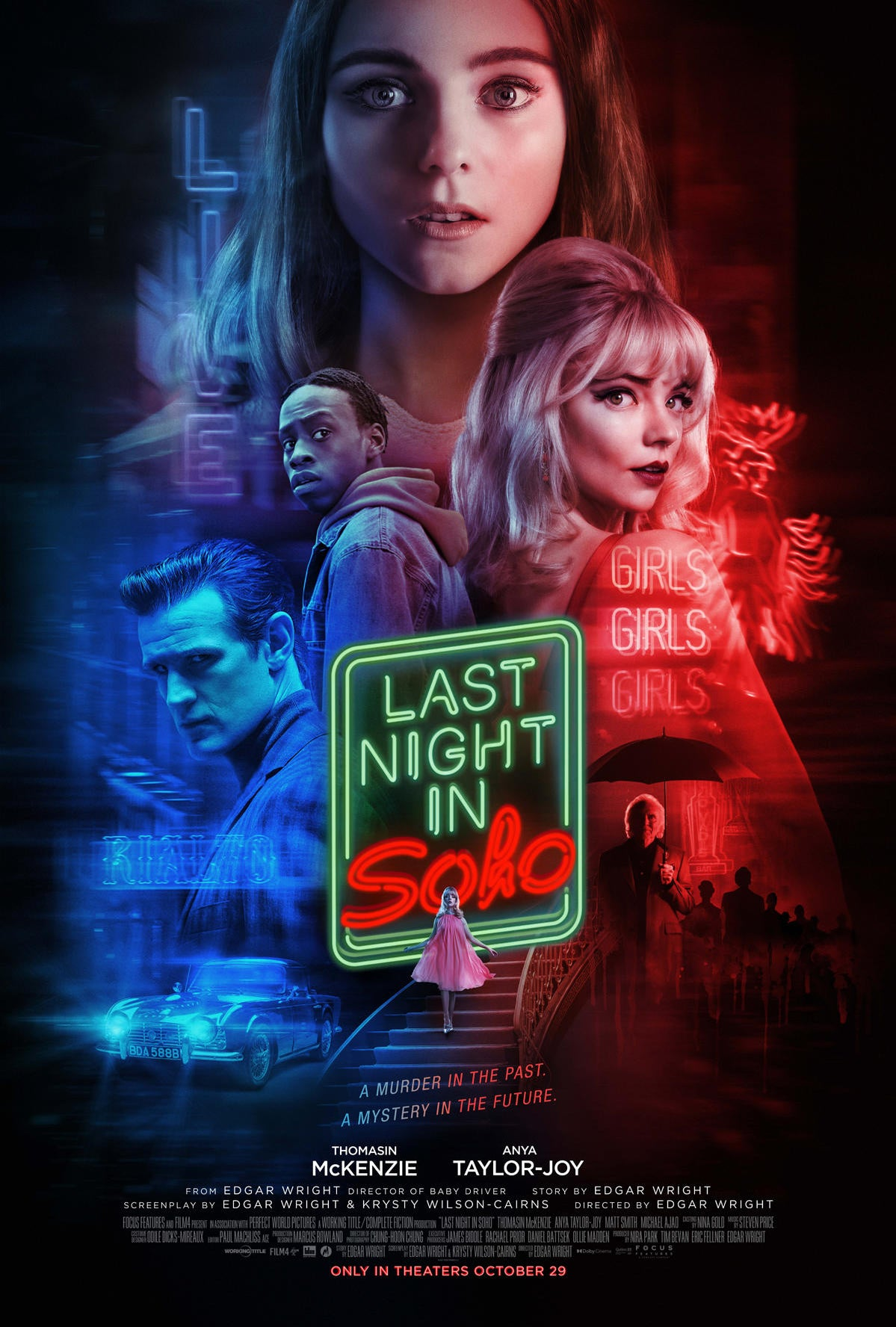 Last Night in Soho Gets New Poster