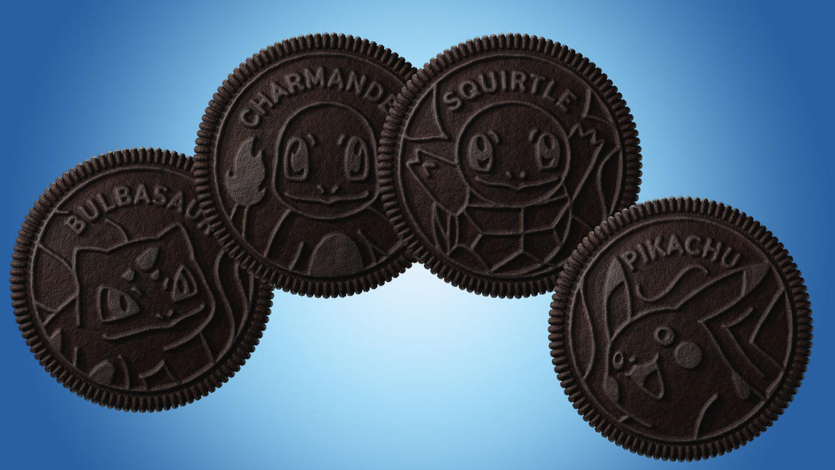 Pokemon Oreos Are Being Sold for Absurd Money on eBay