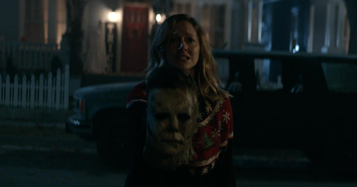 halloween-kills-judy-greer-michael-myers-mask